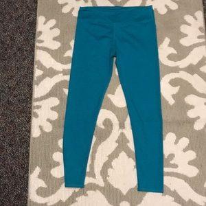 NWOT Fabletics Blue leggings! Size L!